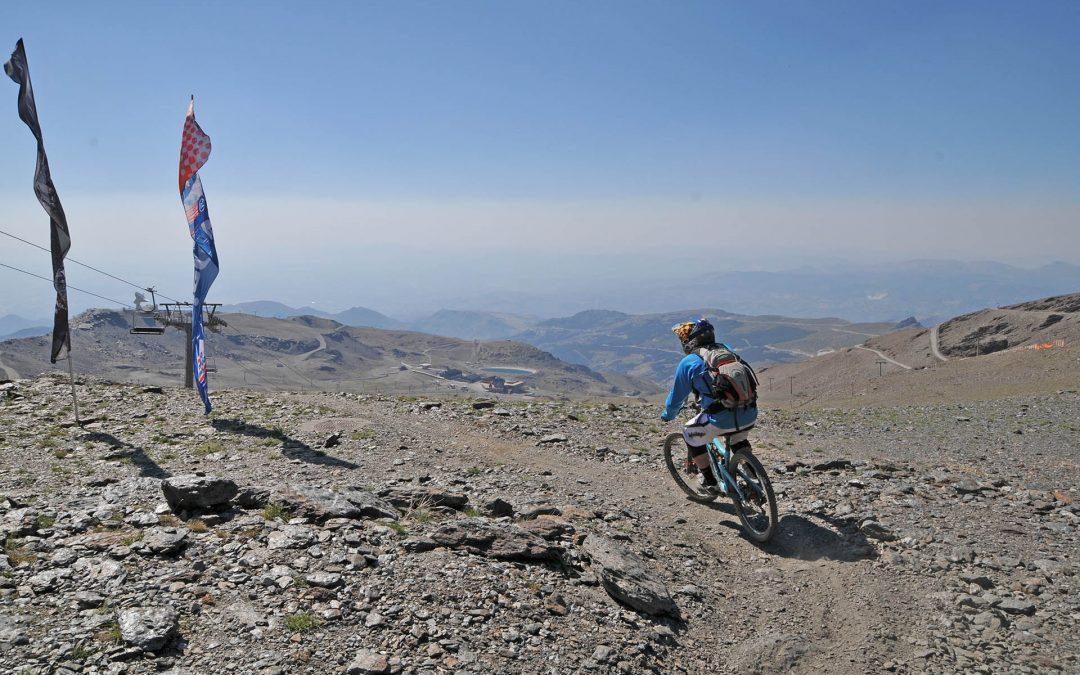 Downhill Biking in Sierra Nevada